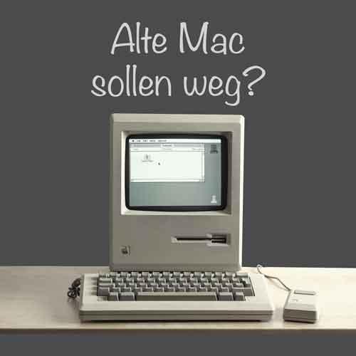 Alte Apple Computer entsorgen