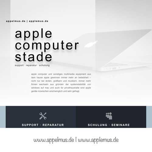 Weiterer Internetauftritt – appelmus.de