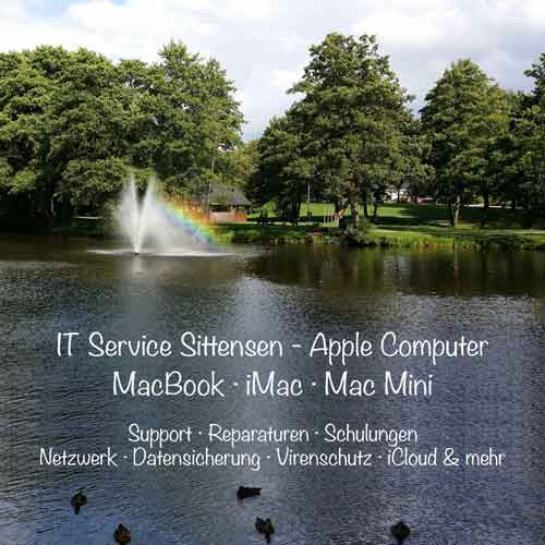 IT Service Apple Computer Sittensen