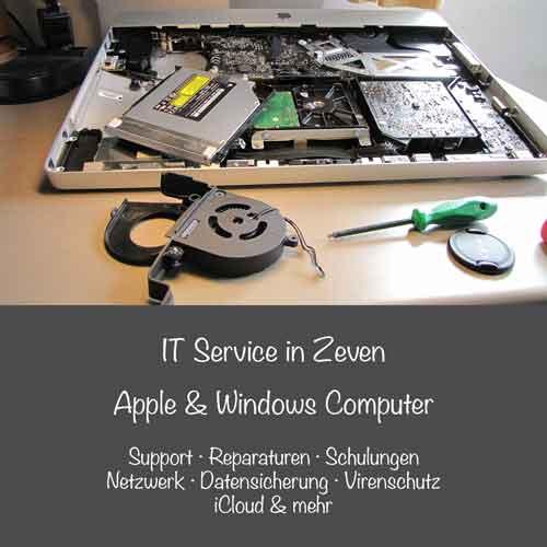 Mac & PC Service in Zeven, bei Hamburg