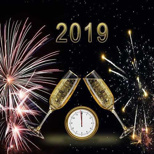 Guten Rutsch in´s Jahr 2019!