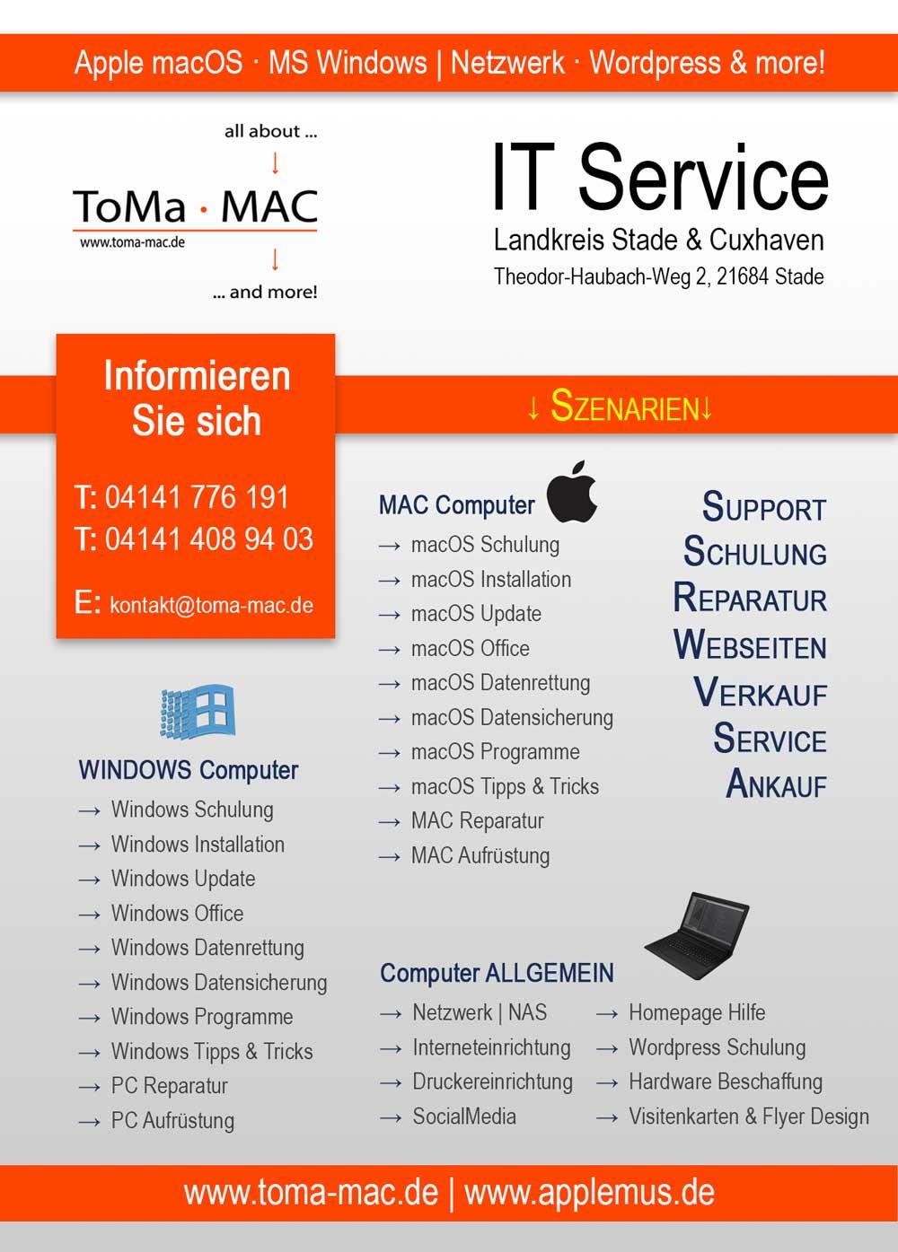 It Dienstleistung Toma Mac It Service Landkreis Stade